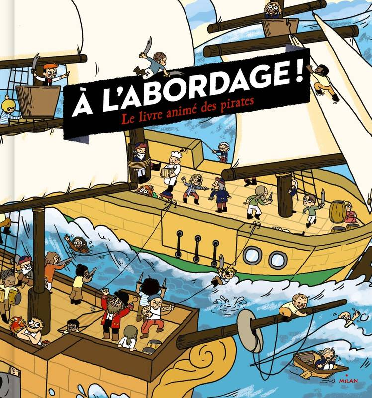À l'abordage, un très grand livre Pop-up
